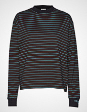 Wood Wood Astrid Long Sleeve T-shirts & Tops Long-sleeved Svart WOOD WOOD