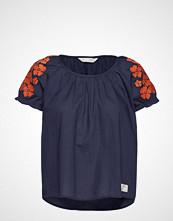 Odd Molly Wooo-Hooo Blouse Bluse Kortermet Blå ODD MOLLY