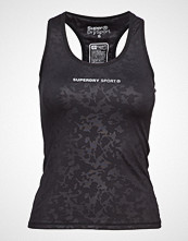Superdry Superdry Core Gym Vest T-shirts & Tops Sleeveless Svart SUPERDRY