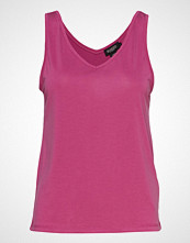 Soaked in Luxury Sl Columbine Tank Top T-shirts & Tops Sleeveless Rosa SOAKED IN LUXURY