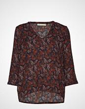 InWear Blakeiw 3/4 V Top Bluse Langermet Multi/mønstret INWEAR