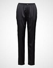 Filippa K Soft Sport Silk Satin Pyjama Pants Vide Bukser Svart FILIPPA K SOFT SPORT