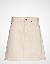 Lee Jeans Seasonal Skirt Kort Skjørt Creme LEE JEANS