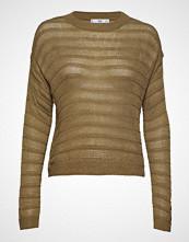 Mango Open-Knit Sweater Strikket Genser Grønn MANGO