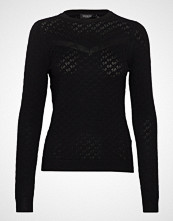 Soaked in Luxury Sl Menika Jumper Ls Strikket Genser Svart SOAKED IN LUXURY