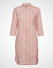 Marc O'Polo Shirt Style Dress Knelang Kjole Rosa MARC O'POLO