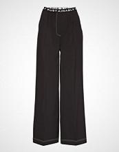 DESIGNERS, REMIX Veronique Elastic Pants Vide Bukser Svart DESIGNERS, REMIX