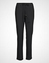 Nanso Ladies Trousers, Joggeri Bukser Med Rette Ben Svart NANSO