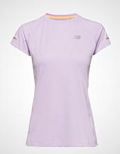 New Balance Nb Ice 2.0 Ss T-shirts & Tops Short-sleeved Svart NEW BALANCE