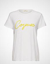 Levete Room Lr-Alvina T-shirts & Tops Short-sleeved Hvit LEVETE ROOM