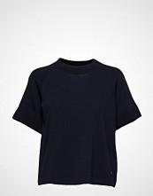 Morris Lady Guilia Knit T-shirts & Tops Short-sleeved Blå MORRIS LADY