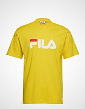 FILA Unisex Classic Pure Ss Tee T-shirts & Tops Short-sleeved Gul FILA
