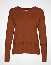 Cream Amandine Knit Pullover Strikket Genser Brun CREAM