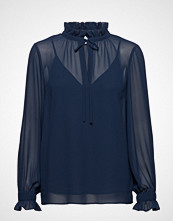 Just Female Jose Blouse Bluse Langermet Blå JUST FEMALE