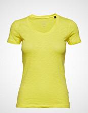 Marc O'Polo T-Shirt Short Sleeve T-shirts & Tops Short-sleeved Gul MARC O'POLO