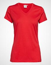 Bergans Basic Wool Lady Tee T-shirts & Tops Short-sleeved Rød BERGANS