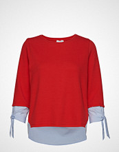 Gerry Weber T-Shirt 3/4-Sleeve R T-shirts & Tops Long-sleeved Rød GERRY WEBER