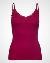 Rosemunde Silk Strap Top Regular W/Rev Vintag T-shirts & Tops Sleeveless Rød ROSEMUNDE