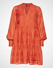 Yas Yasheather Ls Dress Kort Kjole Oransje YAS