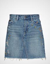 Odd Molly Hot Cuts Skirt Kort Skjørt Blå ODD MOLLY