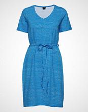 Nanso Ladies Dress, Hiekka Kort Kjole Blå NANSO