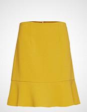 French Connection Dorotea Flare Mini Skirt Kort Skjørt Gul FRENCH CONNECTION