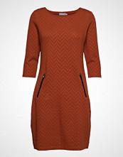 Fransa Fremvar 1 Dress Knelang Kjole Oransje FRANSA