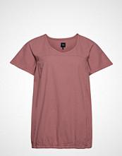 Zizzi Mmarrakesh, Ss, Blouse T-shirts & Tops Short-sleeved Rosa ZIZZI