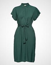 Minus Summer Shirt Dress Knelang Kjole Grønn MINUS