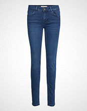 Mos Mosh Sumner Core Long Jeans Skinny Jeans Blå MOS MOSH