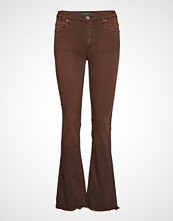 Please Jeans Longcut Cotton Bob Jeans Sleng Brun PLEASE JEANS