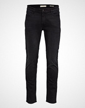 Mango Man Slim Fit Black Partrick Jeans Slim Jeans Svart MANGO MAN