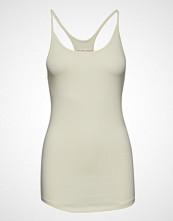Filippa K Soft Sport Cotton Strap Tank T-shirts & Tops Sleeveless Creme FILIPPA K SOFT SPORT