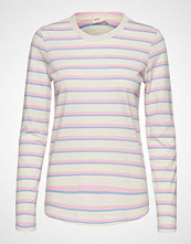 Levete Room Lr-Eika T-shirts & Tops Long-sleeved Rosa LEVETE ROOM