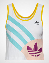 Adidas Originals Tank Top Crppd T-shirts & Tops Sleeveless Multi/mønstret ADIDAS ORIGINALS