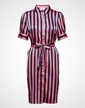 Minus Jonna Shirt Dress Knelang Kjole Rosa MINUS