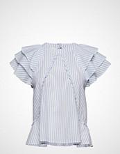 Custommade Othilia T-shirts & Tops Short-sleeved Blå CUSTOMMADE