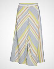 Mango Multicolor Striped Skirt Langt Skjørt Multi/mønstret MANGO