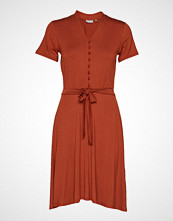 Fransa Fremdress 1 Dress Knelang Kjole Oransje FRANSA