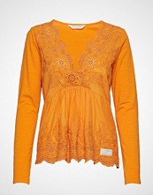 Odd Molly Backyard Top Bluse Langermet Oransje ODD MOLLY