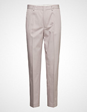 Filippa K Emma Twill Trouser Bukser Med Rette Ben Beige FILIPPA K