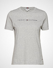Tommy Hilfiger Th Ess Hilfiger Crew T-shirts & Tops Short-sleeved Grå TOMMY HILFIGER