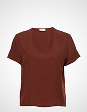 American Vintage Nalastate T-shirts & Tops Short-sleeved Rød AMERICAN VINTAGE