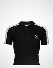 Puma Classics Rib Top T-shirts & Tops Short-sleeved Svart PUMA