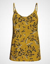Soft Rebels Karoline Strap Top T-shirts & Tops Sleeveless Gul SOFT REBELS