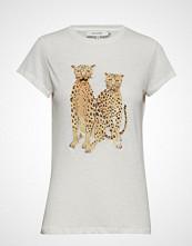 Munthe Hulla T-shirts & Tops Short-sleeved Hvit MUNTHE