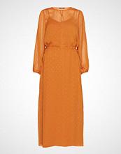 Bruuns Bazaar Mariah Gloria Dress Maxikjole Festkjole Oransje BRUUNS BAZAAR