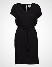 Lexington Clothing Kristina Solid Dress Knelang Kjole Svart LEXINGTON CLOTHING