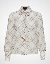 Soaked in Luxury Sl Tallie Shirt Ls Bluse Langermet Creme SOAKED IN LUXURY