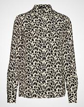 Mango Animal Print Shirt Langermet Skjorte Multi/mønstret Mango